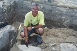 Eric_H._Cline_at_Megiddo